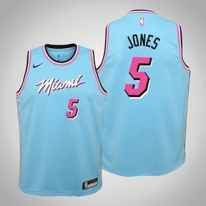 Women Miami Heat #5 Derrick Jones City Jersey